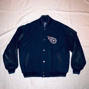 Tennessee Titans Varsity Jacket
